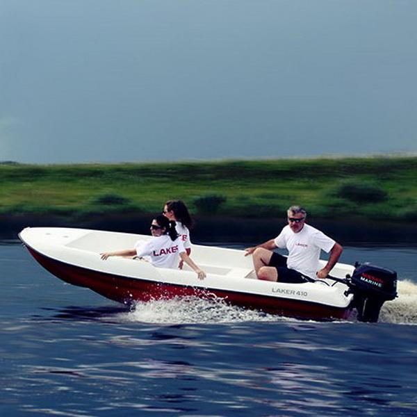пластиковая лодка laker v410
